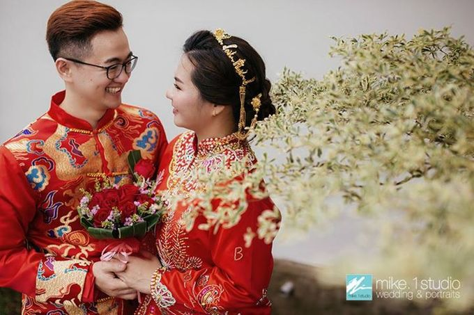 Chinese Wedding Day Photography by mike.1studio weddings & portraits - 011