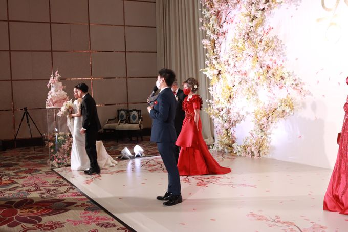 MC Teapai and New Normal Intimate Wedding Fairmont Hotel Jakarta - Anthony Stevven by Anthony Stevven - 007