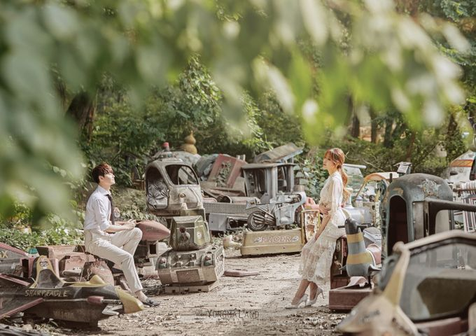 Korea Pre-Wedding Photoshoot - Studio 29 by Willcy Wedding by Willcy Wedding - Korea Pre Wedding - 023
