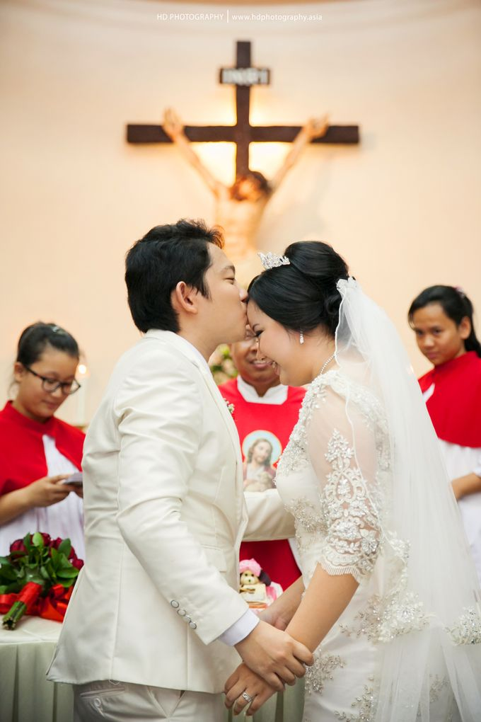 Elit Condro and Fransisca - wedding by HD Photography - 024