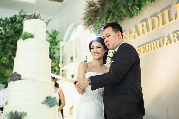 Wedding Cake - Agung & Ardilla by Lareia Cake & Co. - 005