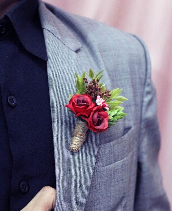 Boutonniere & Corsage by Rose For You - 037