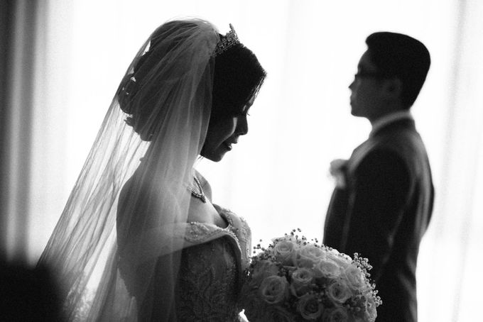 Andre & Elvira Wedding by Dhika by MA Fotografia - 036