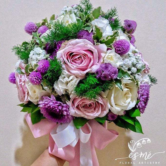 Bridal Bouquet by Esme Floral Artistry - 006