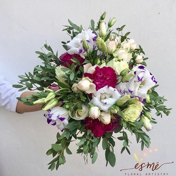 Bridal Bouquet by Esme Floral Artistry - 001