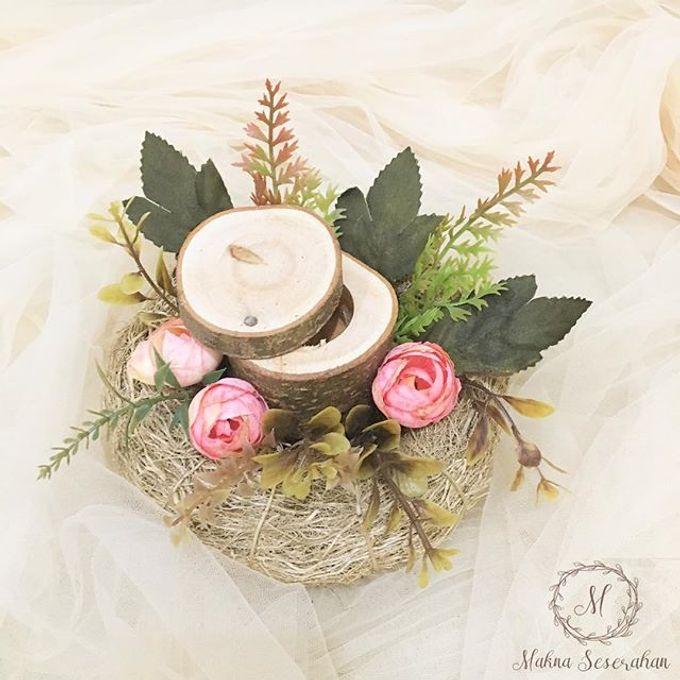 Rustic Ring Bearer / Bird Nest Ring Bearer by Maknaseserahan - 001