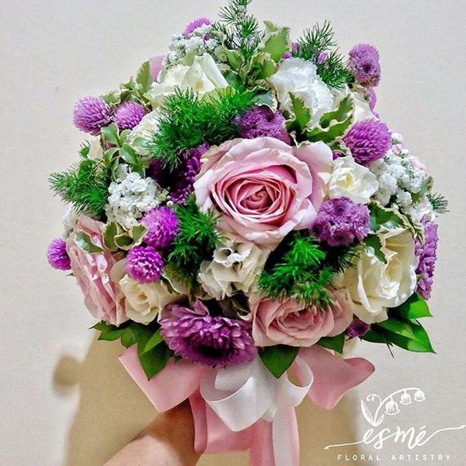 Bridal Bouquet by Esme Floral Artistry - 004