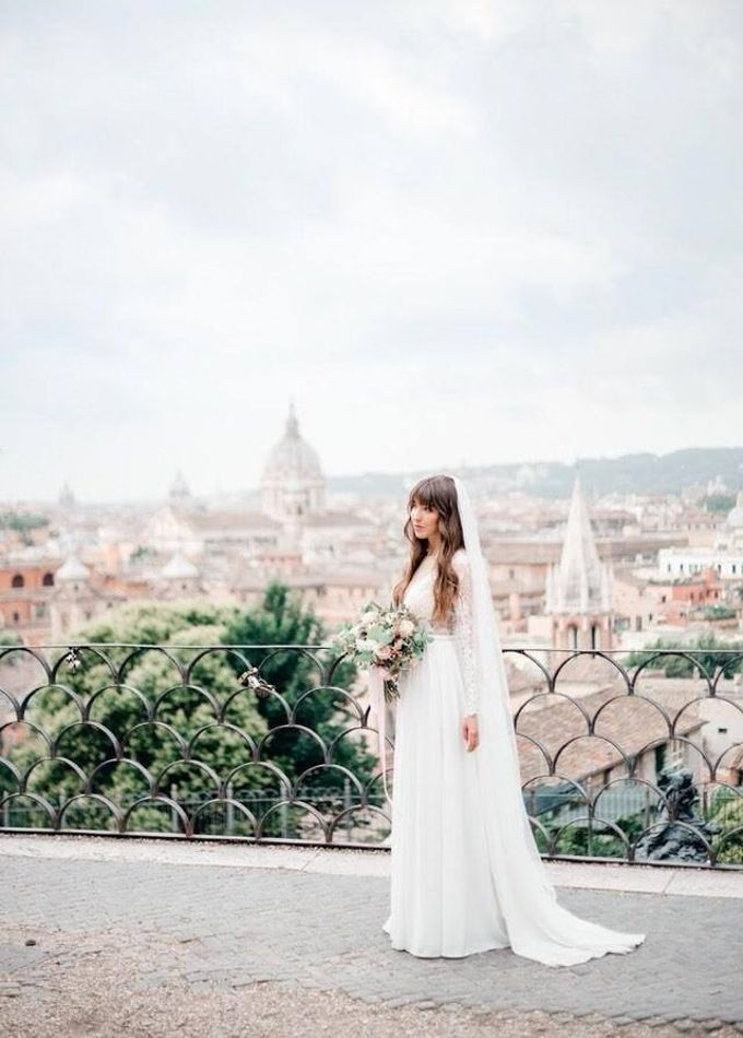 Wedding in Rome by Ruslana Regi makeup artist in Italy - 003
