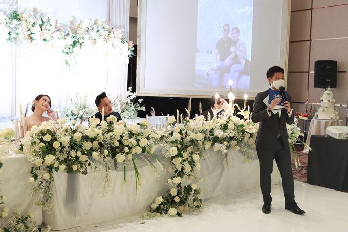 MC Wedding Intimate Fairmont Jakarta - Anthony Stevven by Anthony Stevven - 050
