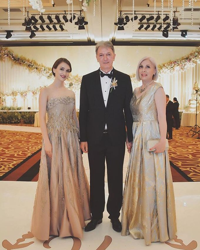 Vladimir & Dominique - Family Dress by Berta Chandra Couture - 002