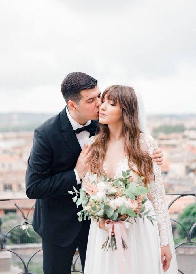 Wedding in Rome by Ruslana Regi makeup artist in Italy - 004