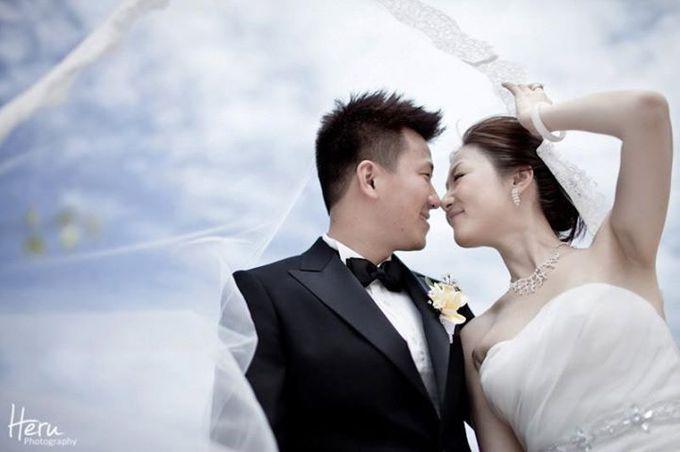 Bali Wedding Li Shun & Cong Xin at Royal Santrian Nusa Dua by Heru Photography - 020