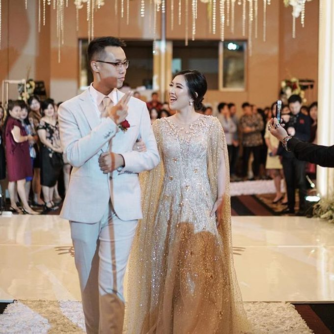 Vladimir & Dominique - Family Dress by Berta Chandra Couture - 016