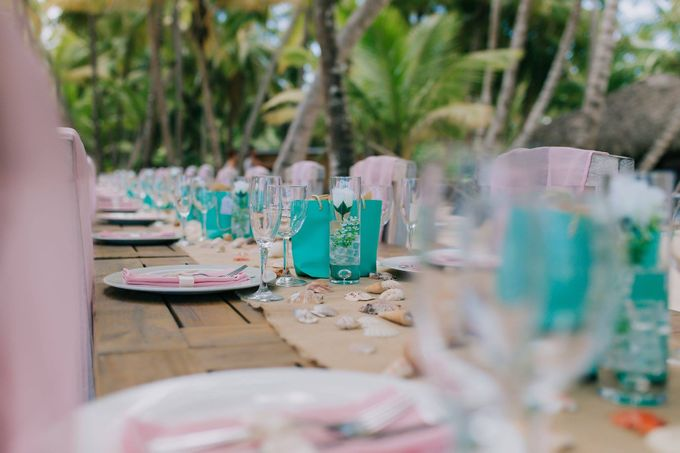 Kristina & Sergejus  Wedding Destination Saona Island by Jennifer C  Wedding & Event Agency - 002