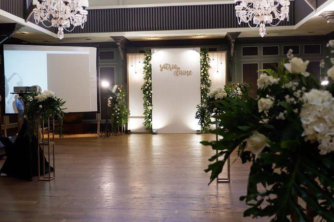 The Wedding of Satria & Elaine by Habitate Garden Lounge - 003