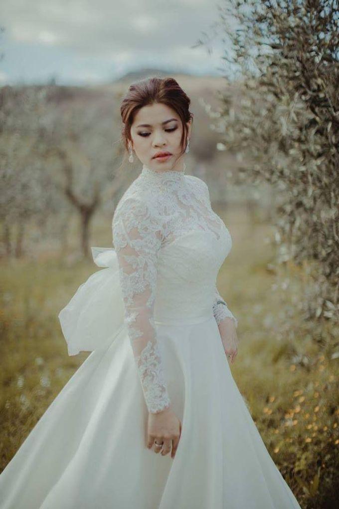 Weddin in Tuscany by Ruslana Regi makeup artist in Italy - 005