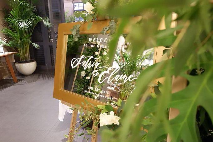 The Wedding of Satria & Elaine by Habitate Garden Lounge - 004