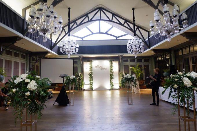 The Wedding of Satria & Elaine by Habitate Garden Lounge - 006