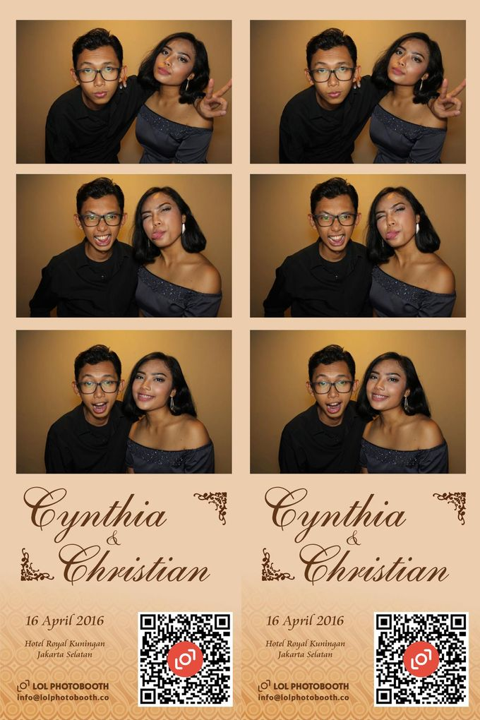 Wedding of C & C by lolphotobooth.co - 001
