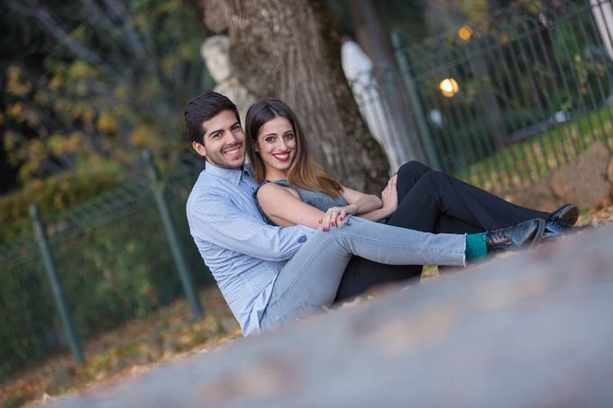 Engagement of Benedetta & Manolo by DR Creations - 030