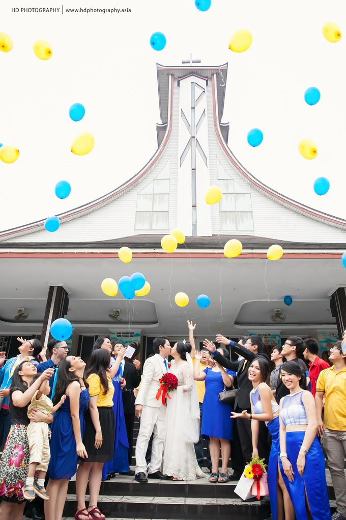 Elit Condro and Fransisca - wedding by HD Photography - 025