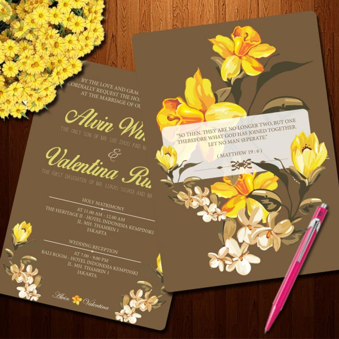 Vintage Invitation by Jolly's Little Dreams - 003