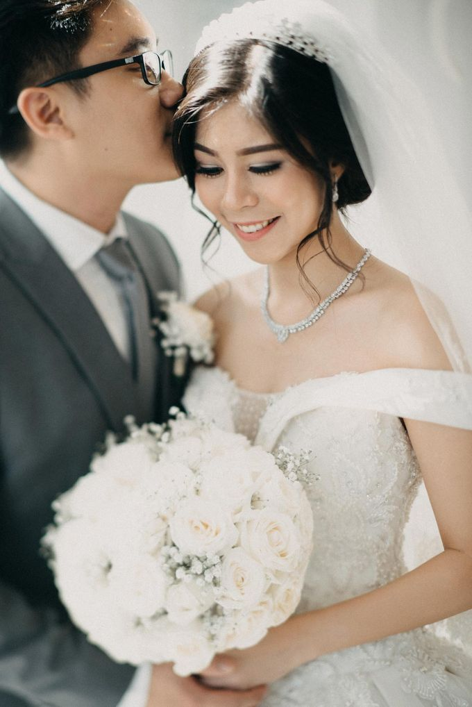 Andre & Elvira Wedding by Dhika by MA Fotografia - 037