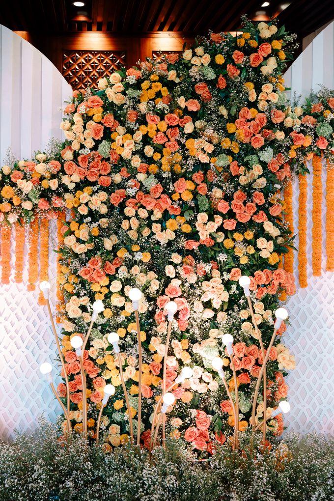 Beautifully Indian Wedding by Konsep Sejiwa - 008