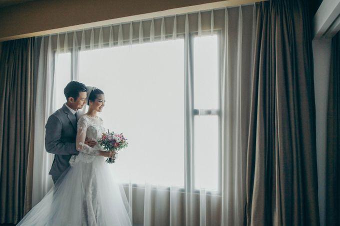 Tomas & Asti Jakarta Wedding by Ian Vins - 021