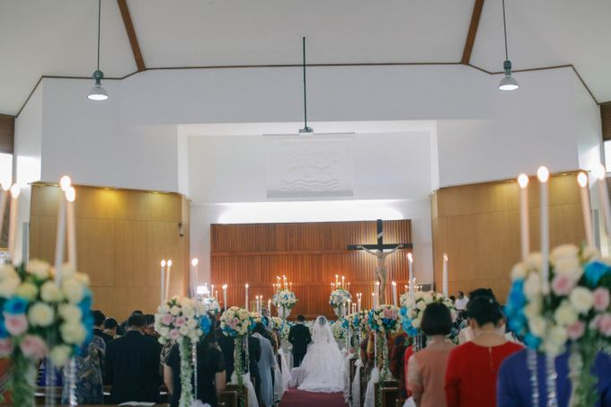 Maurice & Natasya Jakarta Wedding by Ian Vins - 022
