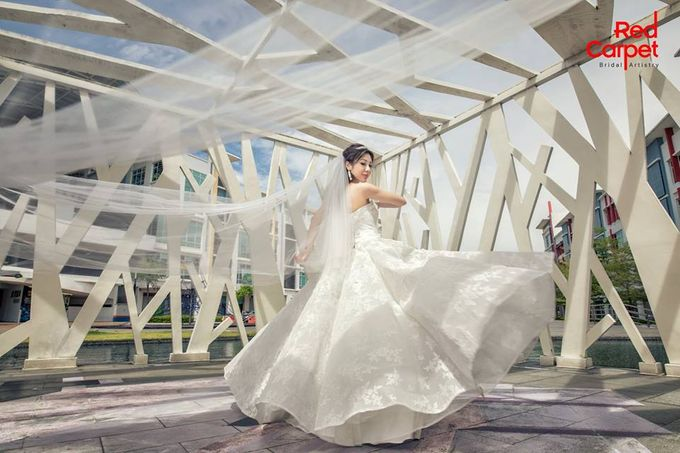 Elegant Pre-Wedding Photo Shoot by RedCarpet Bridal Artistry - 005