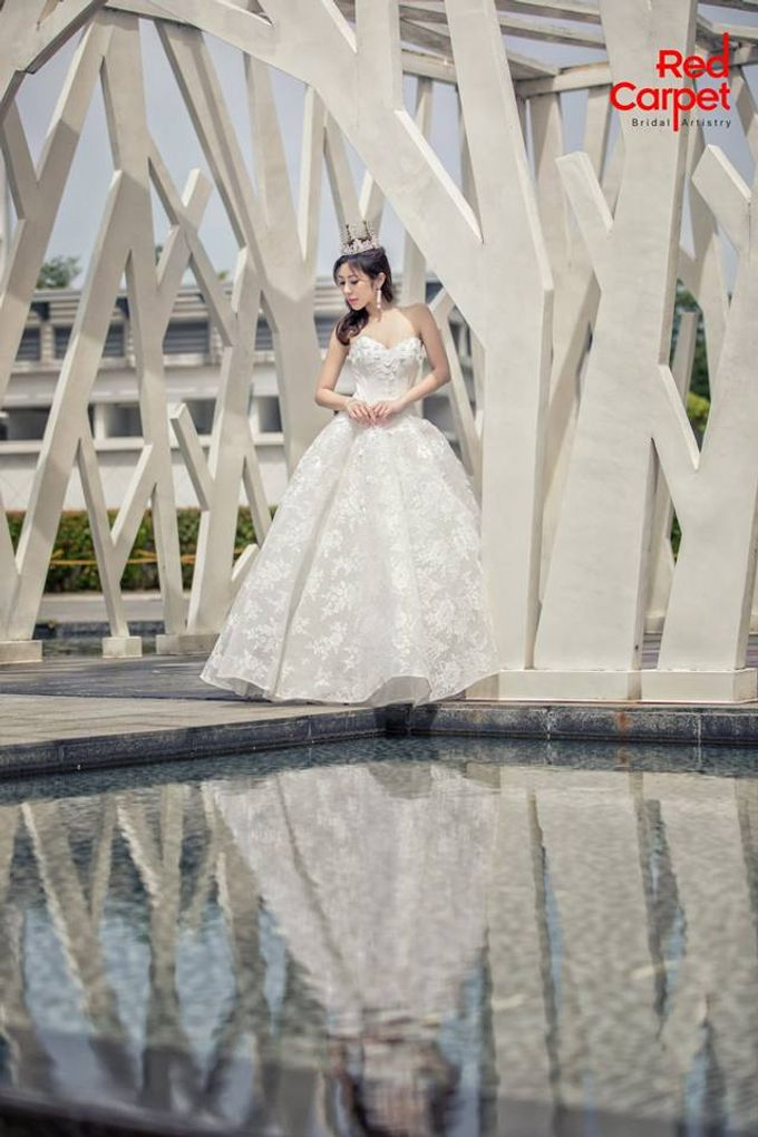 Elegant Pre-Wedding Photo Shoot by RedCarpet Bridal Artistry - 004
