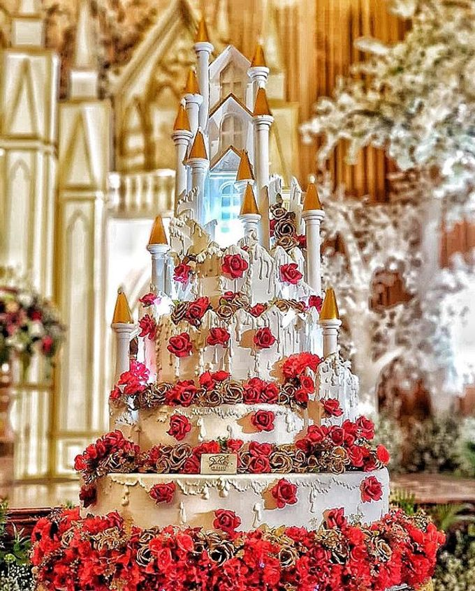 Wedding Cake Customize Design by RR CAKES - 015