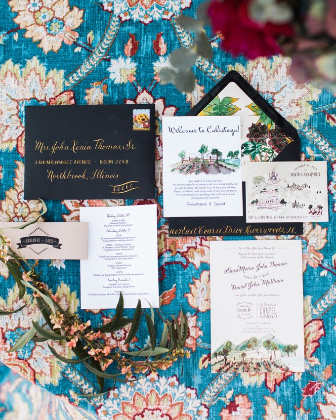 Autumn Vineyard Wedding by Marilyn Ambra Party Consultants - 019