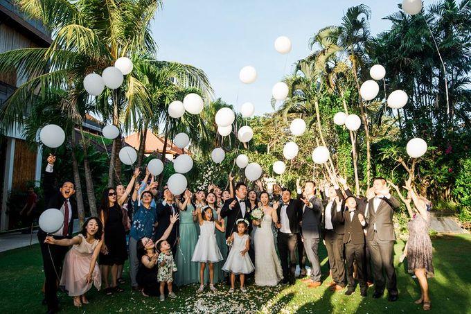 Nancy Chen & JJ Chou by Astagina Resort Villa & Spa Bali - 015