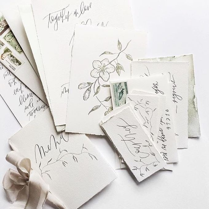 the wedding of Rina & Ayen by C for Calligraphy - 004