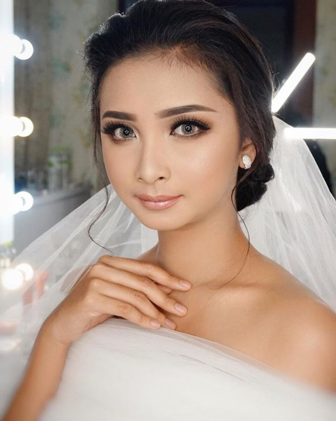 Wedding Make Up  by shabrinamakeup - 010