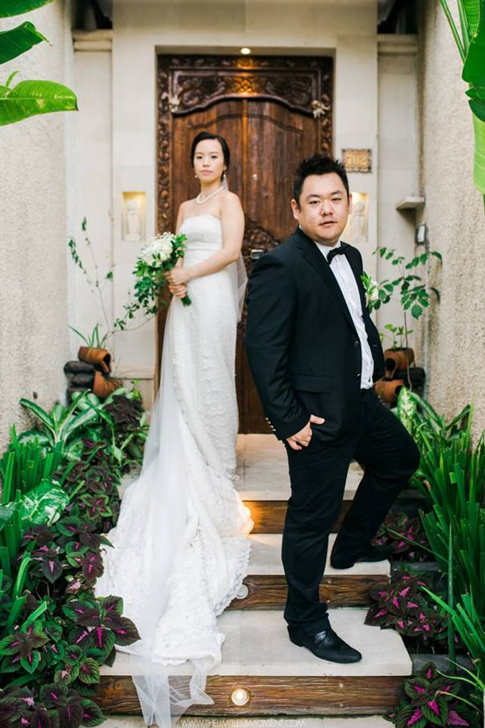Nancy Chen & JJ Chou by Astagina Resort Villa & Spa Bali - 021