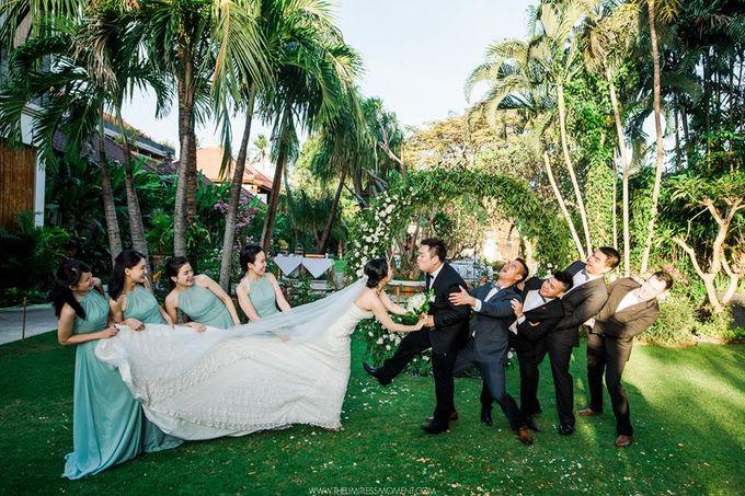 Nancy Chen & JJ Chou by Astagina Resort Villa & Spa Bali - 019