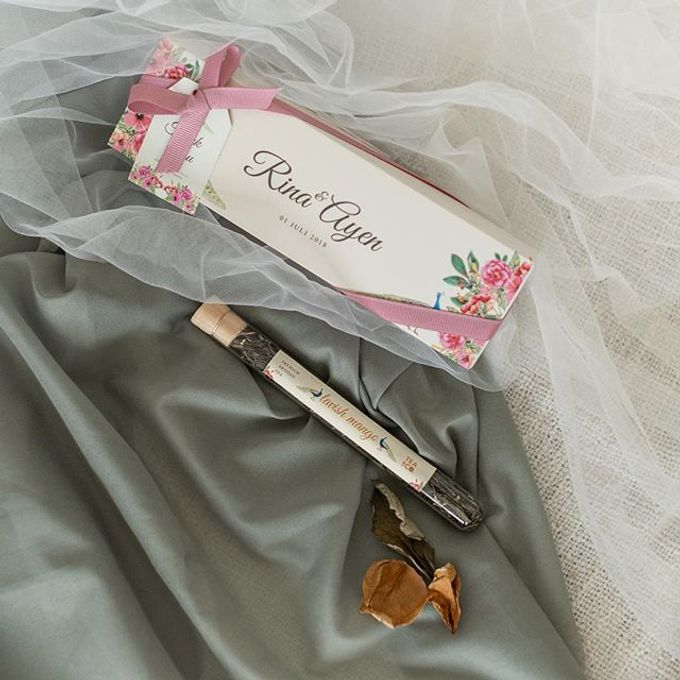 the wedding of Rina & Ayen by C for Calligraphy - 001