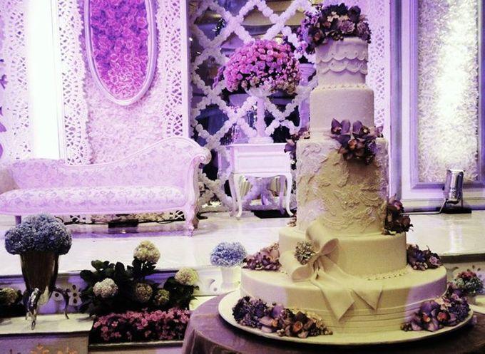 5 layers Wedding Cakes by LeNovelle Cake - 003