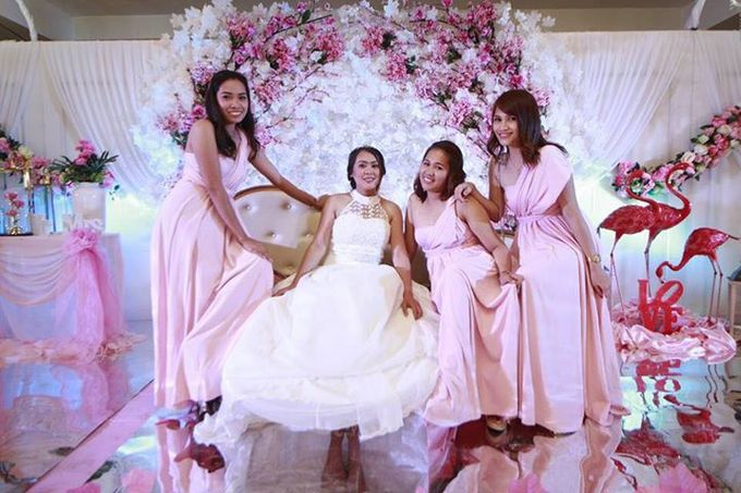 Jayber and  Len Wedding by Sheng Maquillage - 009