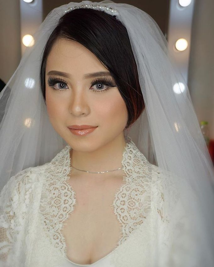 Wedding Make Up  by shabrinamakeup - 021