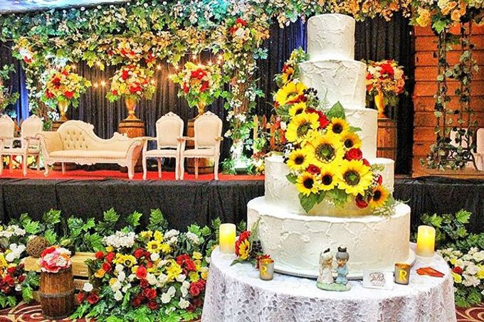 Wedding Cake Customize Design by RR CAKES - 014