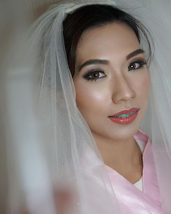 Airbrush Bride Makeup by MRS Makeup & Bridal - 005