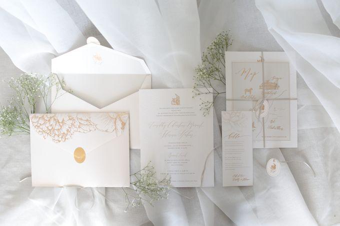 Timothy & Florence Wedding by Veronica Halim Calligraphy - 001