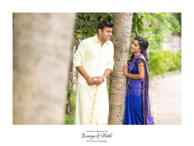 Wedding of Ishwariya & Mathi by DR Creations - 038