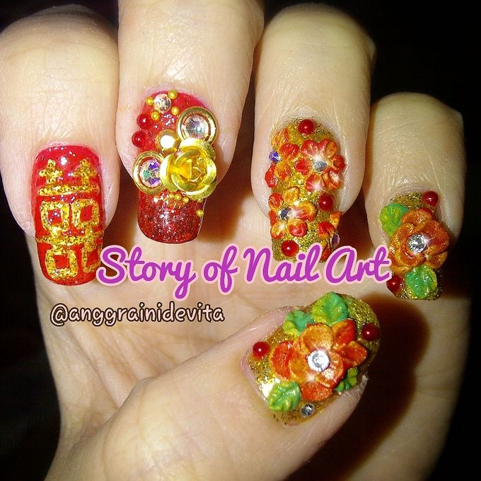 Fake Nails by Story of Nailart - 001