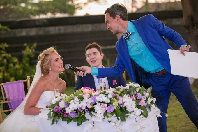 Purple wedding by Bali Angels - 025