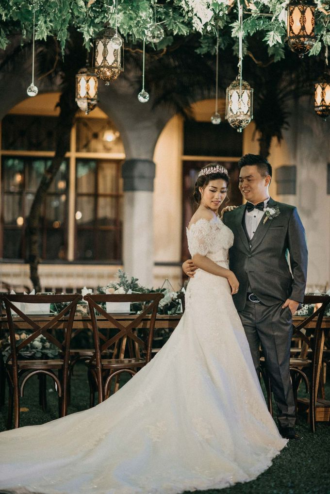 DAVID & FELICIA WEDDING by DHIKA by MA Fotografia - 039